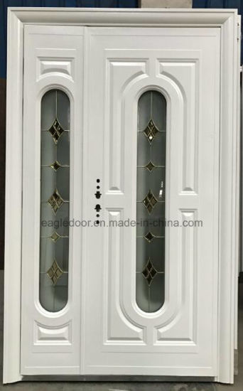 Middle East, Europ, USA French Tempered Glass Steel Door Exterior Door  Security Door (EF G002)