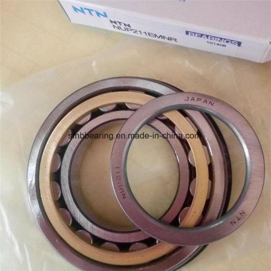 NTN Excavator Bearings Nup211 Cylindrical Roller Bearing