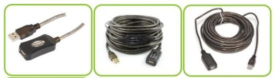 Super Speed USB 2.0 Active Extension Cable Am to Af pictures & photos