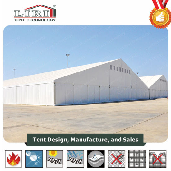 Large Industrial Cheap Storage Warehouse Tent with Steel Sandwich Panel  Walling System