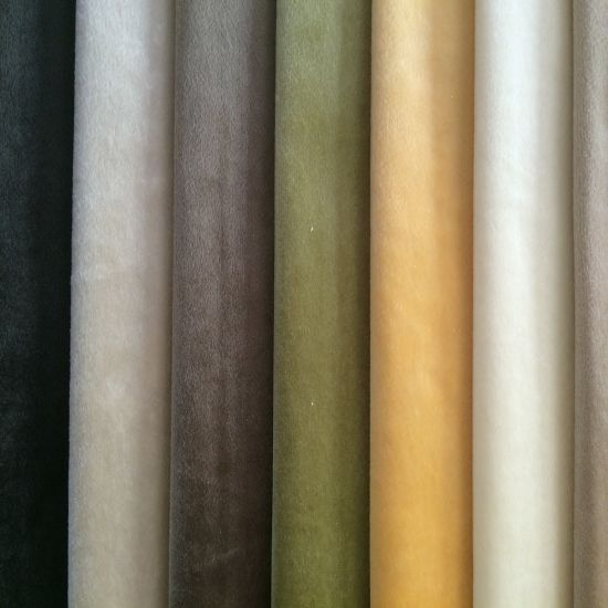 100%Polyester of Velvet Fabric pictures & photos