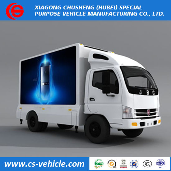 Mobile LED Advertising Vehicle Mounted Waterproof P4 P6 P8 LED Screen Advertising Truck for Sale