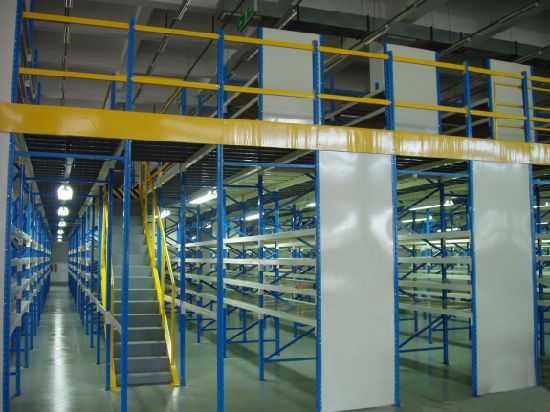 Warehouse Steel Structure Metal Rack with Multi-Level