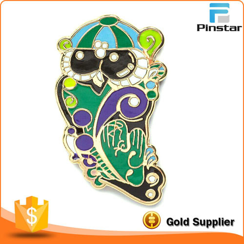 Wholesale Cartoon Fish Metal Badges, Incoming Sample Custom, Factory Direct Sales. pictures & photos