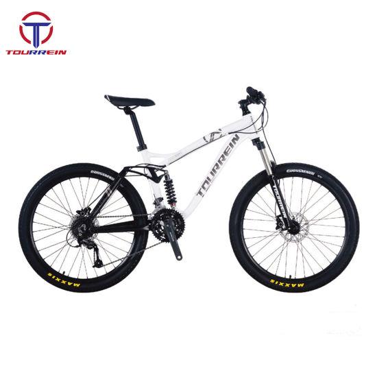 Full Suspension Hydraulic Disc Brake Racing Alloy Mountain Bike