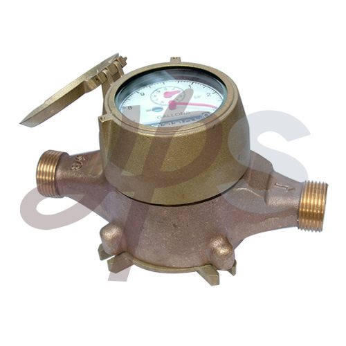 Lead Free Bronze or Brass Multi Jet Water Meters for USA Market (H910) pictures & photos