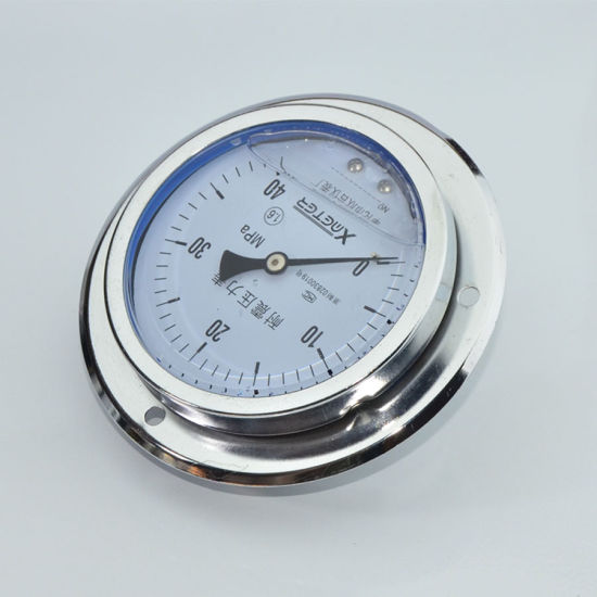 150mm Precision Shock Proof Manometer Pressure Gauge with Best Price pictures & photos