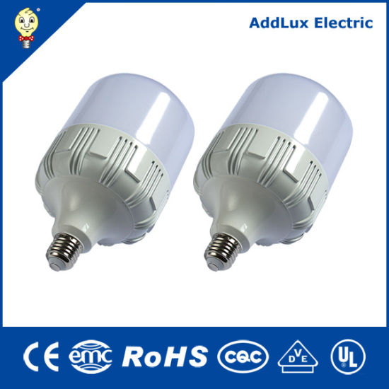 Best Distributor Factory Exports Ce UL Saso E27 Non Dimming 40W Column LED Big T Lamp Made in China for Office, Supermarket, Store, Workshop, Warehouse Lighting