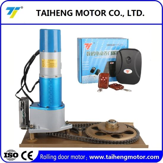 High Quality Alarm Rolling Door Motor with Copper Wire