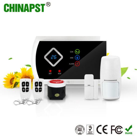 Home Security LED display G10A Wireless GSM SMS alarm system Supported APP
