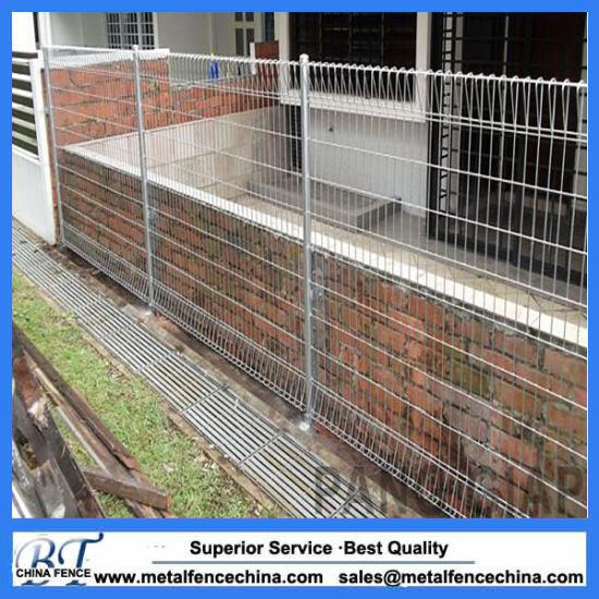 China brc fencing mesh weld fence roll top