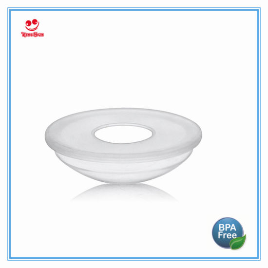 High Quality Pure Silicone Breast Pad for Milk Collection Shells Nipple Shield pictures & photos