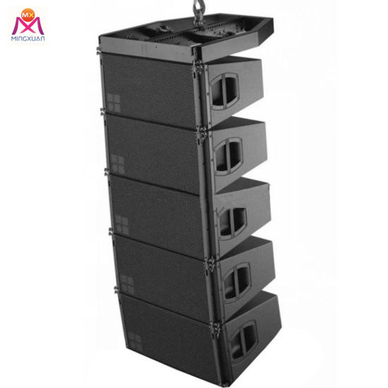 Dual 10inch 3 Way Professional Stage Line Array Speaker