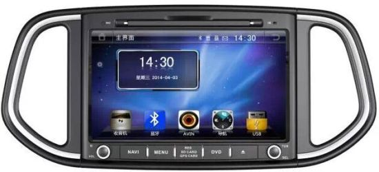 China Two DIN Car DVD Player with TV/Am/FM/Bluetooth/USB/SD