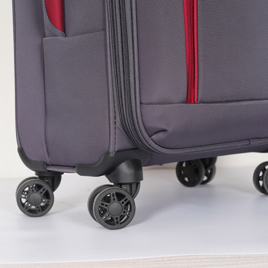 2018 Fashion Polyester Trolley Travel Luggage with Good Quality pictures & photos