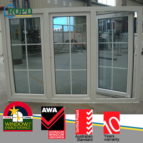UPVC Window with Colonial Bars pictures & photos