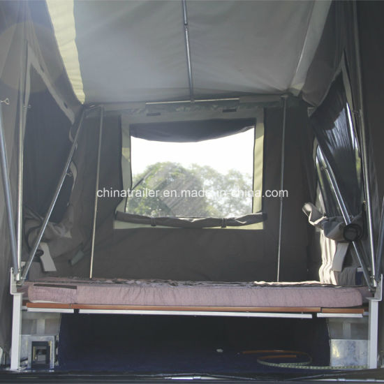 off Road Hard Floor Rear Fold Camper Trailer pictures & photos