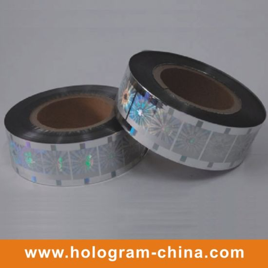 Anti-Fake Security Hologram Hot Foil Stamping pictures & photos