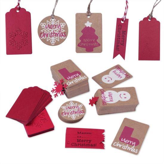 Funny Christmas Gift Tag Handmade Kraft