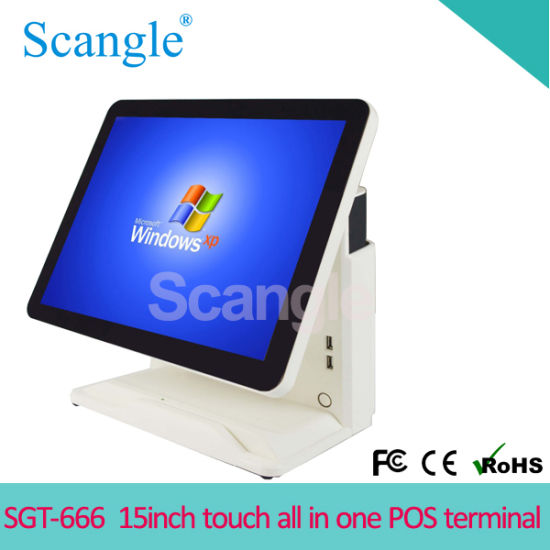 """15"""" Touch Screen All in One POS Terminal for Restaurant"""
