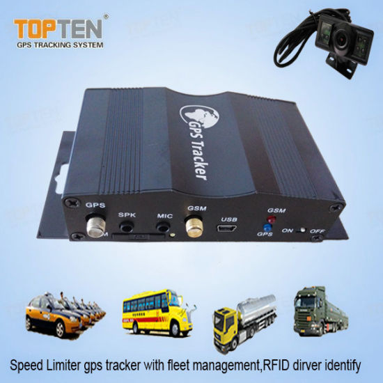 Vehicle Fleet GPS Tracker with Engine Cut off, Acc on Alarm, Snap Picture  Via MMS Tk510-Ez