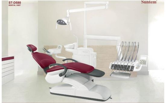 Suntem 580 (NEW) Luxury Dental Chair with Ce pictures & photos