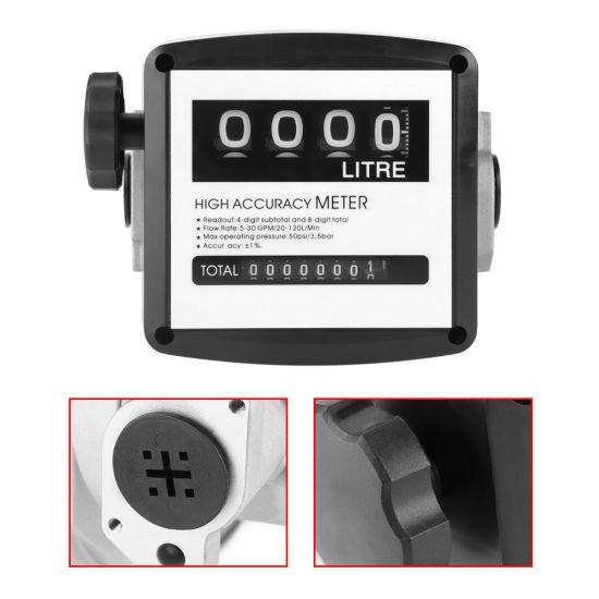 4 digital Diesel Fuel Oil Flow Meter Counter 3.5 bar High Accuracy 1/% 482133
