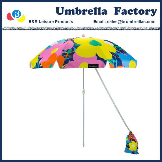 Luxury Beach Umbrella with Sand Bag 180cm