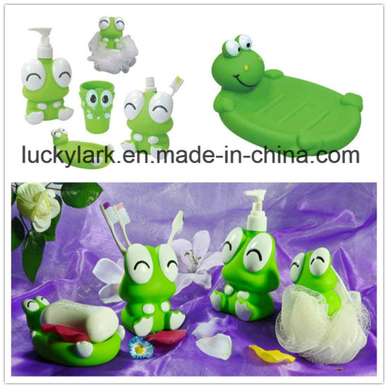 Frog Shape Bathroom Set Baby Bath Series