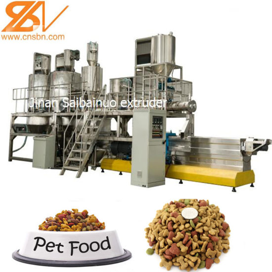 100-1000kg/H Large Capacity Dog Cat Pet Food Pellet Machinery pictures & photos