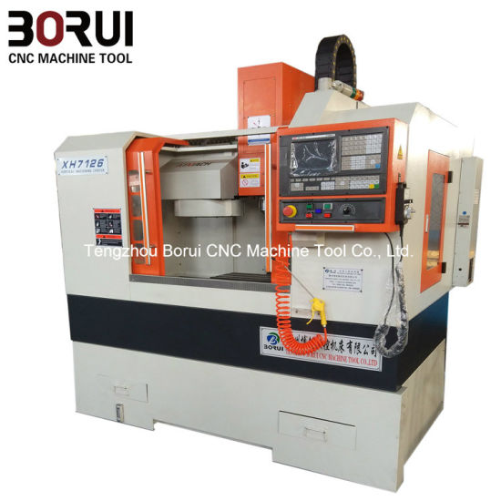 Best Price CNC Milling Machine for Metal Parts Processing Xh7126 pictures & photos