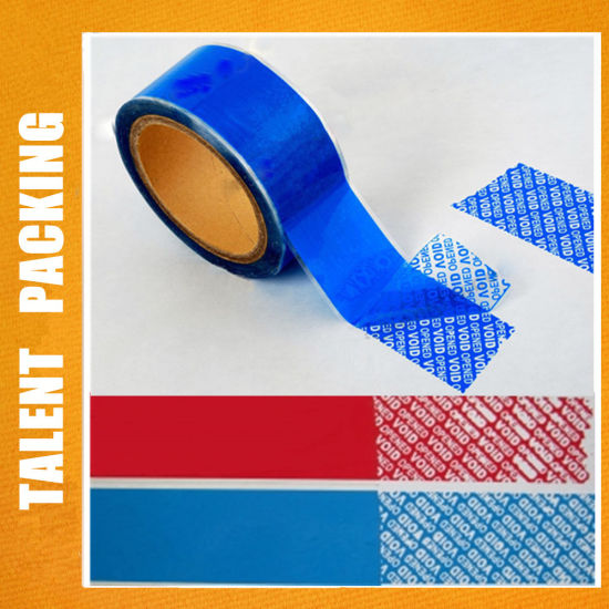 Anti Counterfeiting Tamper Evident Custom Printing Security Tape Void Tape