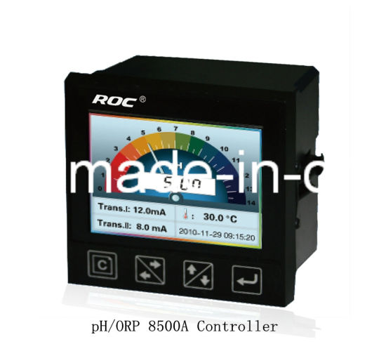 Ce Cerficated Color Screen Online pH /Orp Meter Transmitter
