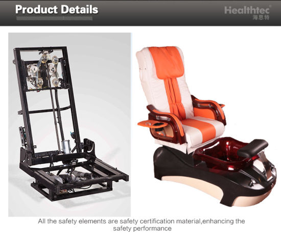 Shiatsu Massage Recliner Armrest with Trays Manicure Pedicure SPA Chair D201-51A pictures & photos