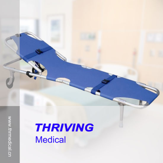 Aluminum Alloy First Aid Stretcher (THR-1A3) pictures & photos