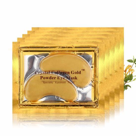 Hot Selling Anti-Wrinkle and Nourishing Collagen Crystal 24K Gold Eye Mask