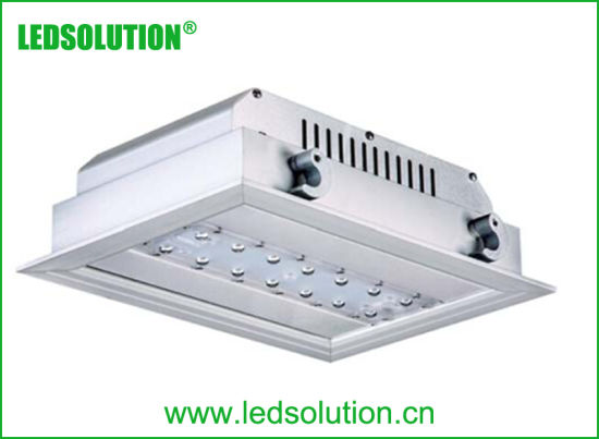 Square Led Recessed Down Light 40w 80w