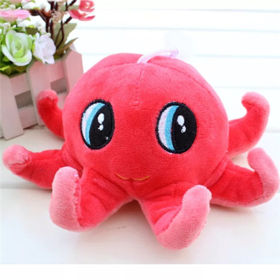 Children Small Soft Plush Toy Gift Cuddly Toy Octopus Shape 12 Inch