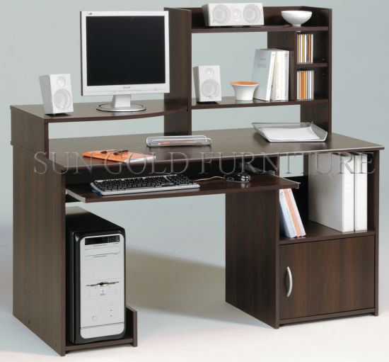 China Pictures of Wooden Computer Table Models with Prices (SZ ...