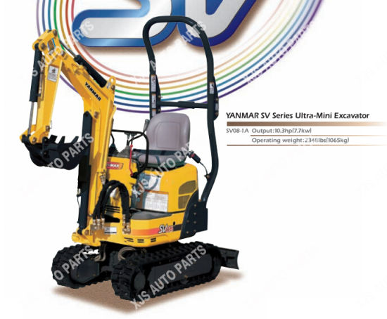 China Yanmar Ultra-Mini Excavator Sv08-1A - China Ultra-Mini