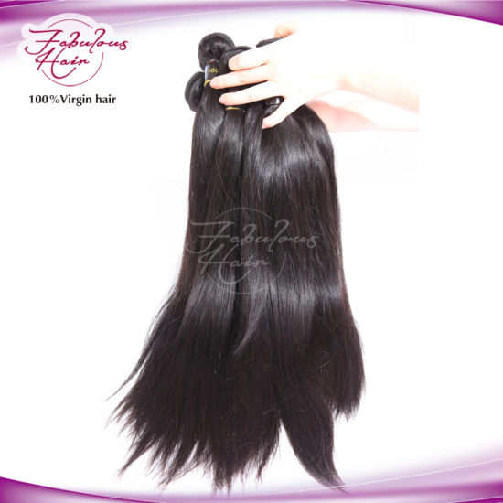 2016 Hot Sale Braziian Virgin Remy Hair Straight Weaving Hair pictures & photos