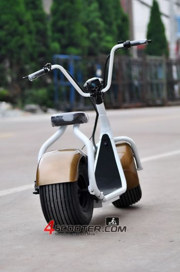 Classical Big Wheel 800W City Coco Electric Scooter pictures & photos