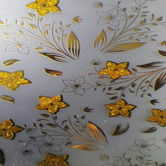 Silk Printing Glass with Colour Designs pictures & photos