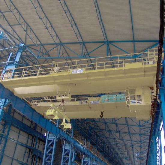 Double Girder Travelling Bridge Crane for Factory pictures & photos