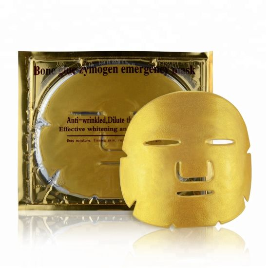 Hot! Anti-Ageing Nourishing Natural Gold Crystal Collagen Face Mask