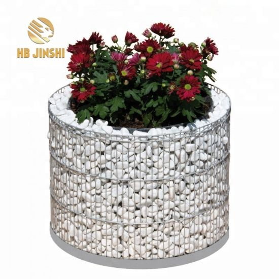 Hot Dipped Galvanized Welded Mesh Gabion for Retaining Wall