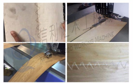 Veneer Vertical Stitcher Stitching Machine / Veneer Flat Seamer Woodworking Machine pictures & photos