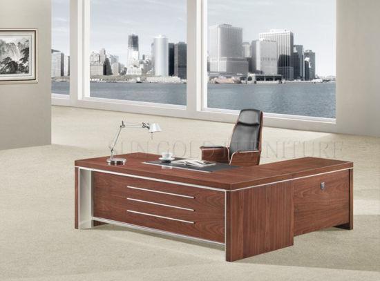 executive office table design. Wooden Executive Office Table Design, Pictures Of Computer (SZ-ODB301) Design