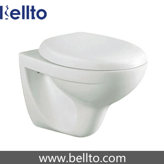 Bathroom ceramic Wall Hung Toilet with Concealed Cistern (333W)