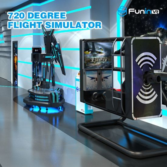 China 360 Degree Viewing Flight Simulator Real Flying Game